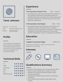 2017 Technical Resume Examples