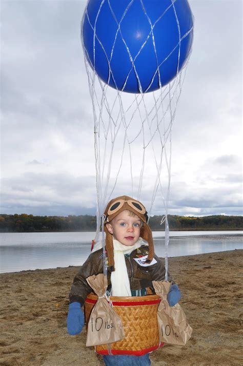 halloween costume hot air ballon pilot halloween