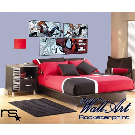 comic themed bedroom large comic book style theme wall art sticker decal ebay bedroom decor ideas for teen boys