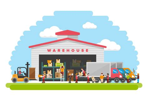 warehouse flats clipart   cliparts  images