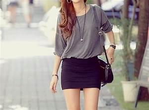 black pencil skirt on Tumblr