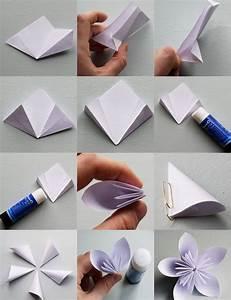 Origami Blumen Falten : origami zu ostern falten 10 einfache und h bsche ideen ~ Watch28wear.com Haus und Dekorationen