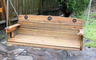 Potting Bench Pallets by Cedar Creek Woodshop Porch Swing Patio Swing Picnic