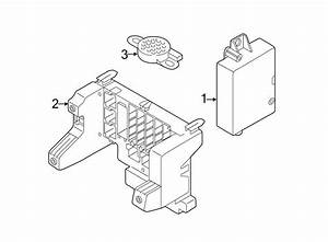 Audi A8 Mounting Fuse Holder  Bracket