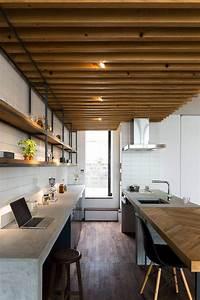 Awesome, Details, Of, Minimalist, Single, House, Design, Using