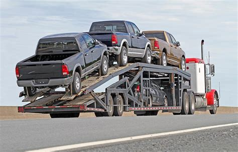 Types Of Vehicle Transportation And Trailers