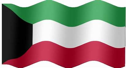 Kuwait Flag Animated Flags Country Meaning Very
