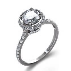ring designer 7 8 ctw luminous ring in 14k white gold