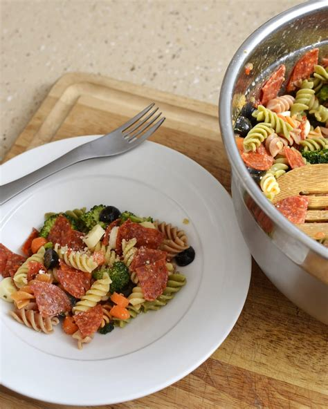 pasta salad side dish slow cooker baked beans like mother like daughter