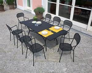 Tavoli e sedie da giardino in ferro battuto ~ Mobilia la tua casa