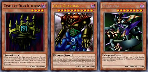 Gate Guardian Deck 2015 by Yu Gi Oh Ace Monsters Ix Duelist Kingdom By