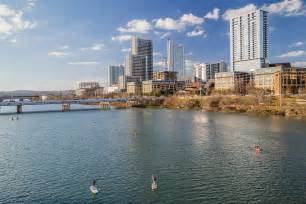 view  downtown austin  kayaking activities