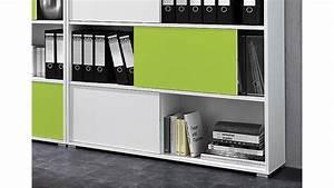 Büro Set Möbel : b ro set slide wei und gr n 3 teilig germania ~ Indierocktalk.com Haus und Dekorationen