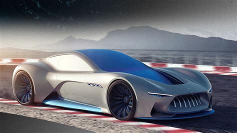 maserati genesi sports car concept photo gallery