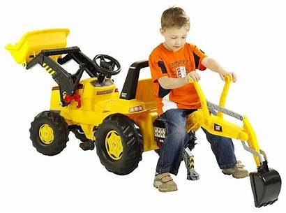Backhoe Toys Toy Loader Caterpillar Ride Tractor