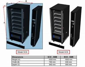 G-snack Design Sd6    Sc6 Master Vending Machine