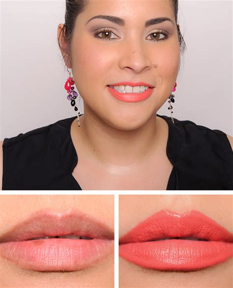 mac matte lip mac tropic tonic lipstick review photos swatches
