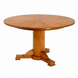 Jules Leleu Sycamore Center Table France C 1948 For