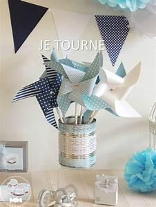 Moulin A Vent Deco Bapteme : les 11 meilleures images du tableau d coration bapt me th me toile et nuage sur pinterest ~ Melissatoandfro.com Idées de Décoration