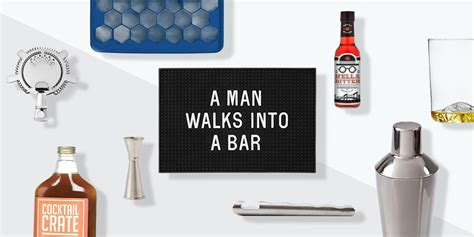 starter kit home bar essentials askmen