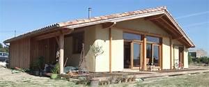 Toit En Paille : charpentier ecoconstructeur en dordogne 24 paille porteuse ~ Premium-room.com Idées de Décoration