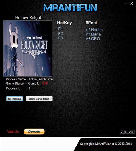 Hollow Knight Trainer 3 V1424 Mrantifun Download