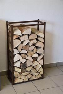 Holzlagerung Im Haus : kaminholzregal innen stab 900x500 aus metall ~ Markanthonyermac.com Haus und Dekorationen