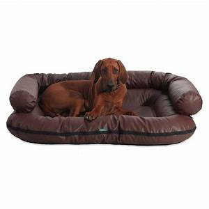 Hundehaare Vom Sofa Entfernen : e hundebett ella lux hundesofa hundeliege hundekorb beidseitig aus kunstleder ebay ~ Bigdaddyawards.com Haus und Dekorationen