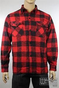 chemise de bucherons a carreaux noir et rouge kustom With veste bucheron rouge carreaux