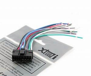Sony Wire Harness Illumination Mute Xplod Cdx Mp70 Sni