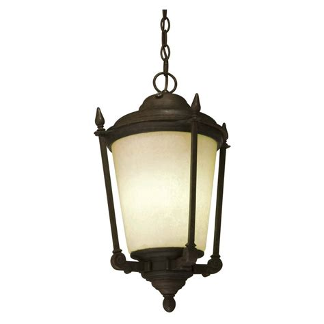 kingsly outdoor pendant with dusk to photocell