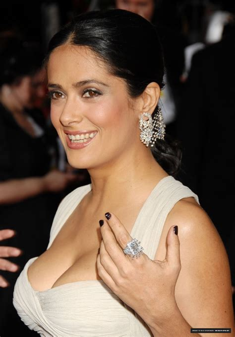 Salma Hayek Salma Hayek Breast Pics