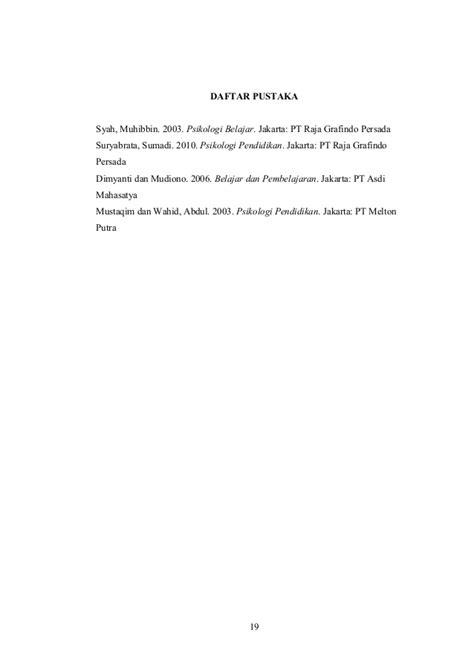 psikologi pendidikan by sumadi suryabrata makalah psikologi pendidikan