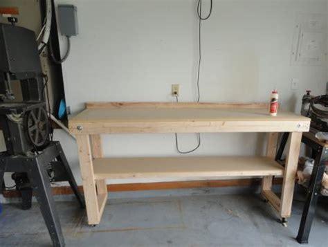 plans wooden workbench kits home depot  kids