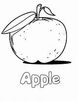 Apple Coloring Pages Printable Sheets Drawing Alphabet Letter Bitten Fruit Core Colouring Lemonade Fruits Stand Getdrawings Nature Shopkins Tiny Bestcoloringpagesforkids sketch template