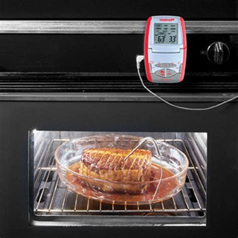 sonde pour cuisine thermomètre four mastrad avec sonde colichef