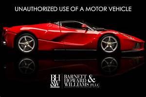 Unauthorized Use Of A Motor Vehicle