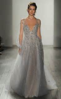 silver wedding dresses 19 silver colored wedding dresses that left us breathless asia wedding network