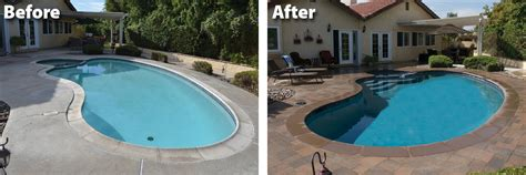 pool makeovers 28 best how much to renovate a pool how to replaster or remodel your pool renovating your