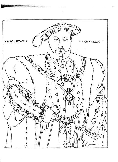 Henry-VIII (1700×2338) | Renascimento Colorir | Pinterest