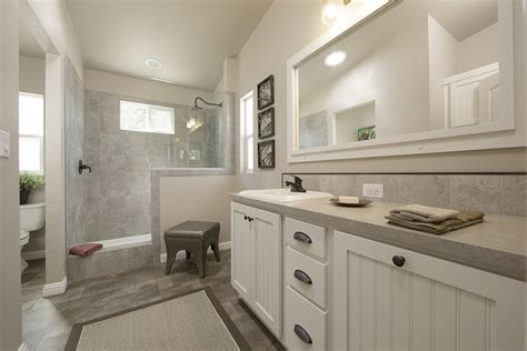 manufactured homes bathrooms silvercrest homes