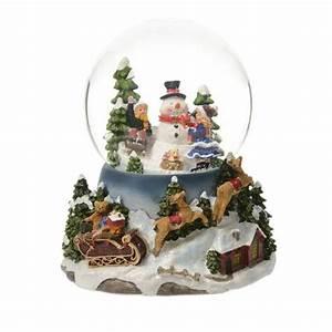 Boule De Neige Noel : boule neige lumineuse magie de no l village de noel ~ Zukunftsfamilie.com Idées de Décoration