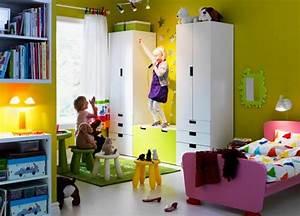 Chambre Ikea Enfant : meuble rangement enfant ikea stuva ~ Teatrodelosmanantiales.com Idées de Décoration