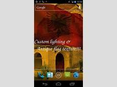 3D flag of Albania para Android baixar grátis O papel de