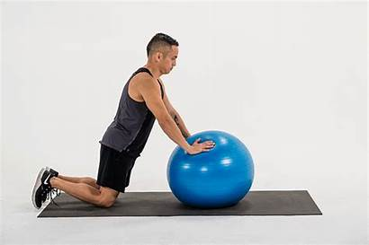 Ball Stability Exercise Exercises Workout Shoulder Rollout