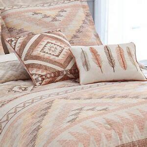 Aztec Comforter Set taupe southwest aztec comforter set 5pc bedding