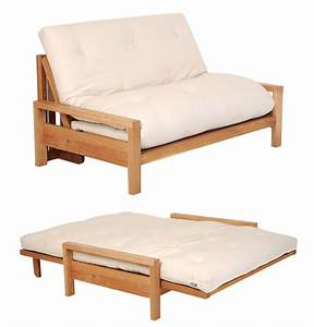 Futon 2 places ziloofr for Banquette convertible lit 2 places