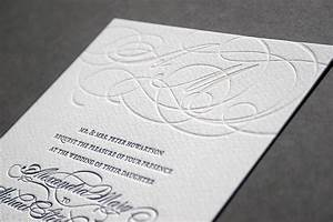 blush bespoke custom letterpress printing in the uk With wedding invitations on cotton paper