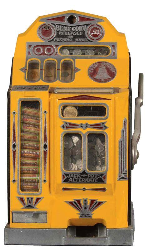 Lot Detail  **5¢ Superior Golden Bell & Vendor Slot Machine