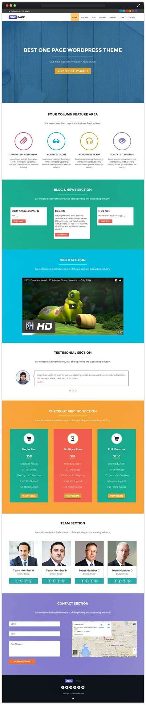 create website   page wordpress theme tutorial
